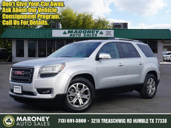 2016 gmc acadia slt 1 cars - houston, tx at geebo